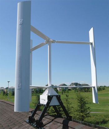 Pole or Roof Mounted Residential Wind Turbines